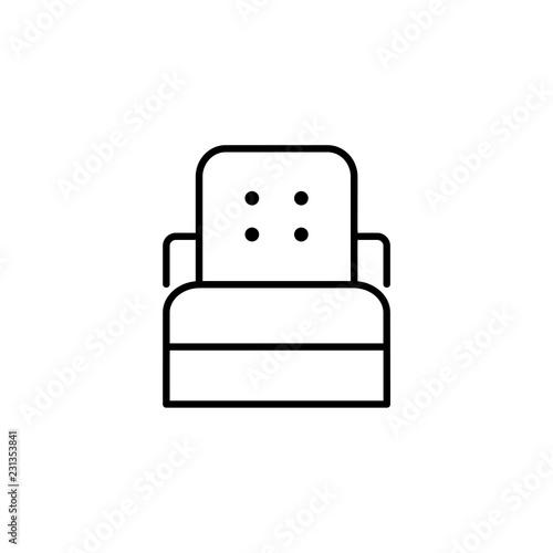 Groovy Black White Vector Illustration Of Sleeper Convertible Inzonedesignstudio Interior Chair Design Inzonedesignstudiocom