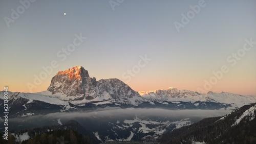 Fotografie, Obraz  Dolomity in the morning
