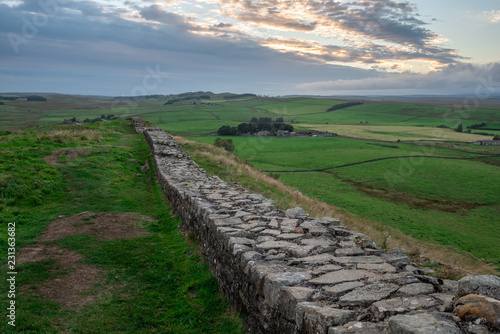 Canvas-taulu Famous Hadrian's Wall, England