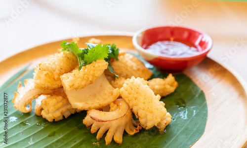 grilled dried squid