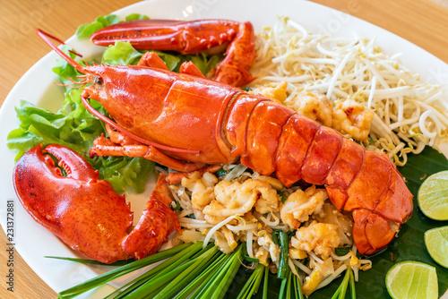 Pad thai lobster