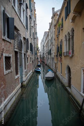 Fotografie, Obraz  Venice Italy Street Canal Architecture Feature