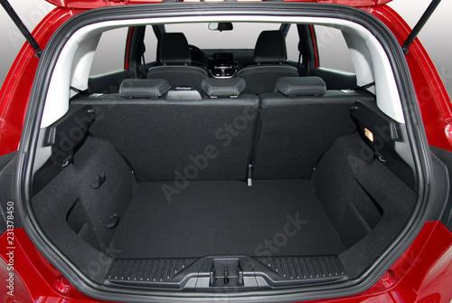 Fototapeta car trunk
