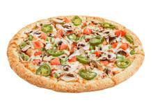 Italian Pizza On A White Backg...