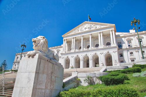 Fotografía Lisbon parliament building