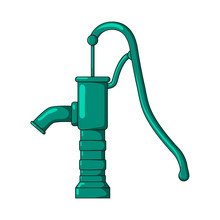 Green Water Pump Design Isolat...
