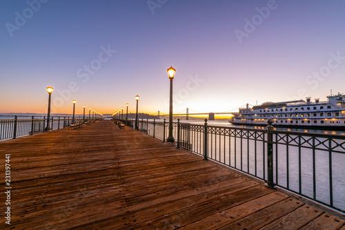 San Francisco Sunrise from Pier 7