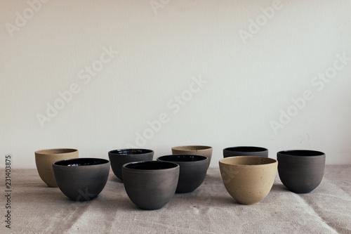 Fotografie, Tablou Handmade ceramics