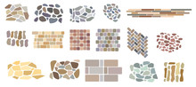 Set Of Vector Paving Tiles And...