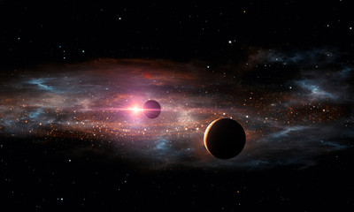Extrasolar planets. Outer space