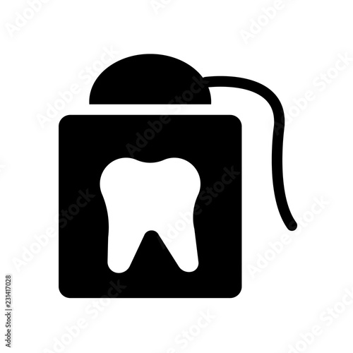 Photo  flossing icon
