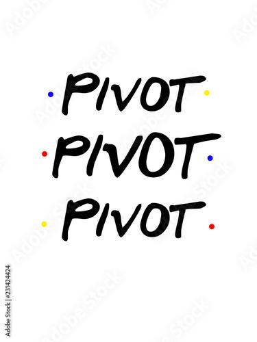 Pivot Pivot Wallpaper Mural