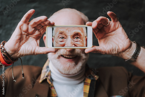 Photographie  Advanced old age concept