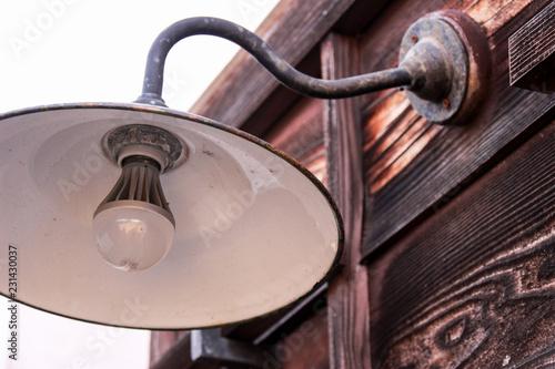 Fotografie, Obraz  日本の古いレトロな灯り
