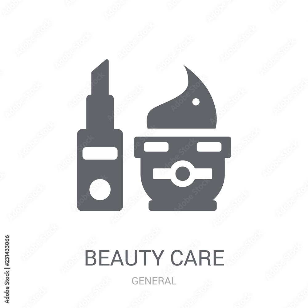 Fotografie, Obraz  beauty care icon