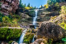 Bear Creek Falls Near Telluride, Colorado - Horizontal