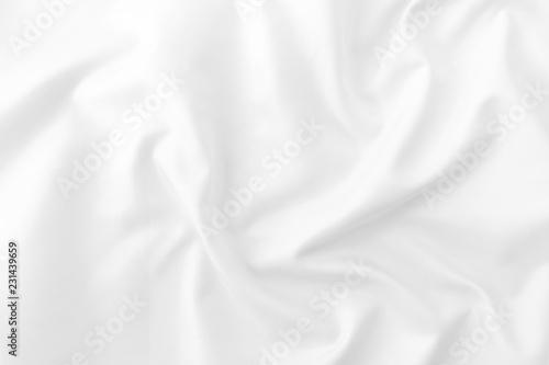 Fotobehang Stof white fabric texture background