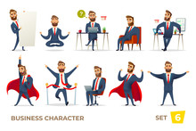 Businessman Collection. Bearde...