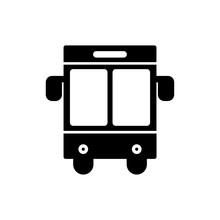 Buss School Icon Glyph