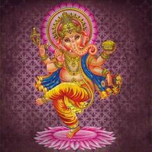 Grunge Dancing Ganesha