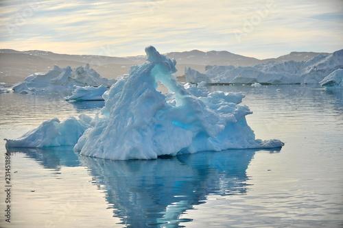 Fotografie, Obraz  Icebergs near the coast of Greenland.