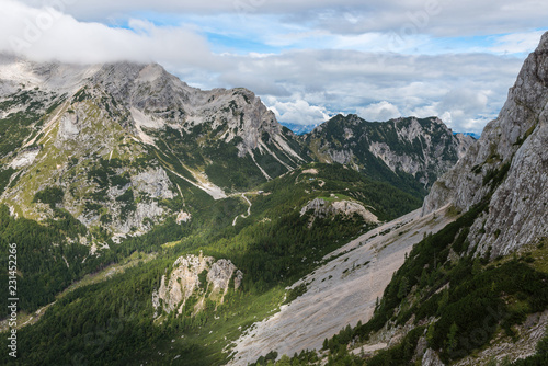 Deurstickers Alpen Beauties of the Julian Alps, Slovenia