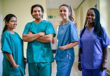 Medical Team At A Hospital