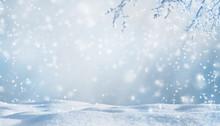 Winterliche Kulisse
