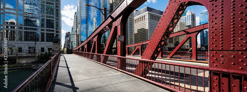 Photo sur Aluminium Ponts Chicago bridge