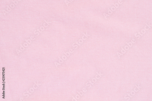 Photo  Texture of pink knitted silk sweater background