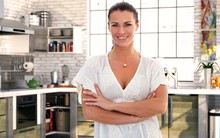 Housewife Over 40 In Kitchen A...