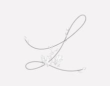 Vector Hand Lettering Floral L...