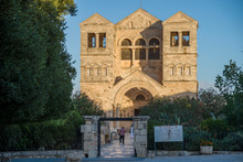 Church Of The Transfiguration In Mount Tabor, Israel