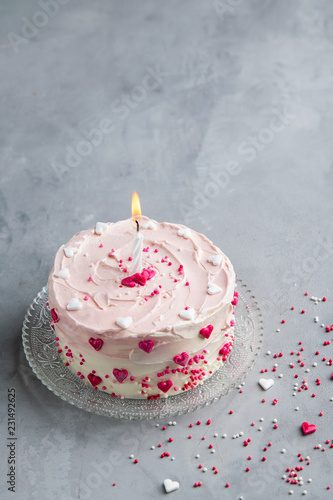 Mothers Day Cake Background