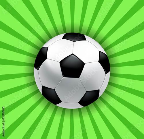 Fotografiet  soccer ball symbol