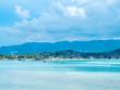 Seascape view of Samui island, Thailand