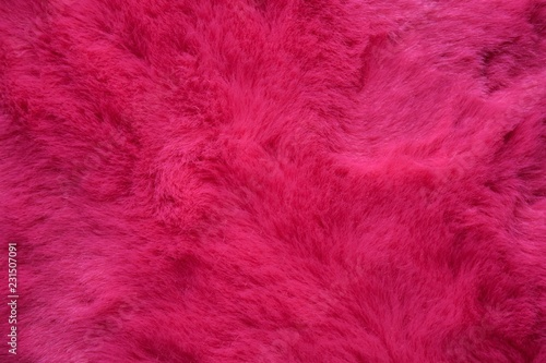 Door stickers Macro photography background of pink fur