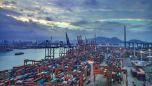 Port Of Hong Kong On October 1...