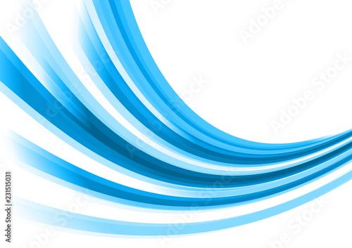 Valokuva  抽象的な曲線の背景
