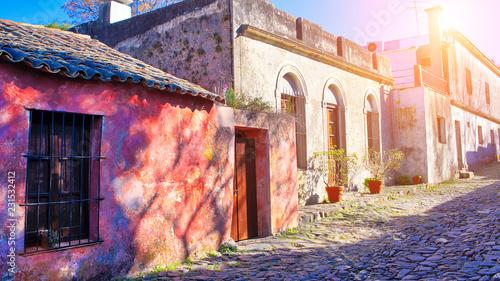 Uruguay, Streets of Colonia...