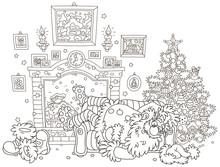 The Night Before Christmas. Sa...