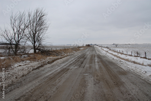 Fotografie, Obraz  Winter road