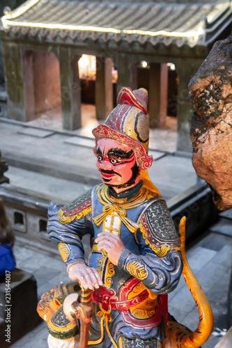 Foto op Plexiglas Historisch mon. statue Inside Huyen Khong Cave