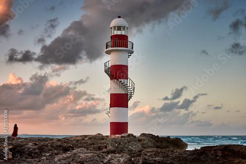 Obraz Faro punta cancun - fototapety do salonu