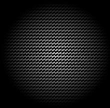 Paralelogram Pattern Black White Shadow
