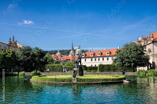 Foto op Aluminium Centraal Europa Prag, Wallenstein- Garten