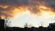 sunset, beautiful fire clouds 6