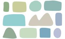Hochauflösende Gezeichnete Formen Die Als Hintergründe Für Kreative Designideen Verwendet Werden Können