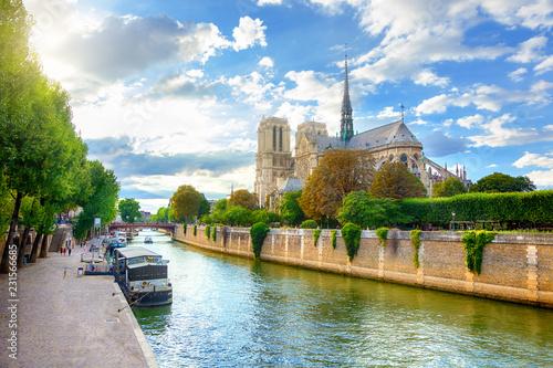 In de dag Centraal Europa Notre Dame de Paris