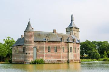 Fototapeta Horst Castle near Leuven in Belgium
